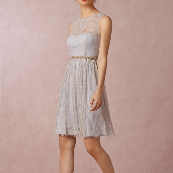 f1236609199f BHLDN Dresses & Skirts - BHLDN Celia Dress- Mist Gray